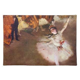 Prima Ballerina, Rosita Mauri by Edgar Degas Placemat