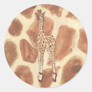 Prima Donna Giraffe Sticker