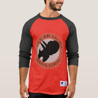 """Primabeasts """"Triceratops Semper Fortis"""" Champion T-Shirt"""