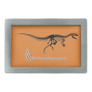 "Primalbeasts ""Allosaurus"" Belt Buckle Rectangular"