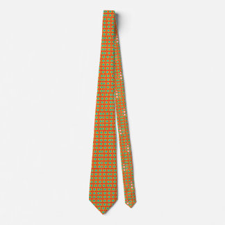 Primary_bulle seye in red yellow and green tie