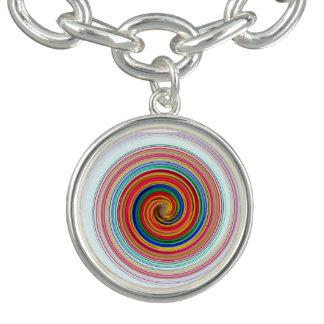 Primary Color Swirls Bracelets