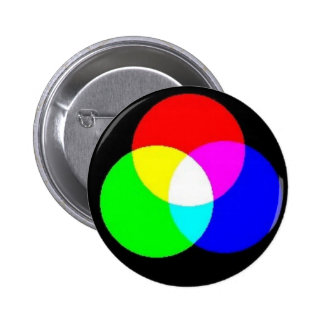 PRIMARY COLORS - EDIT YOUR OWN TEXT OVER THIS 2 INCH ROUND BUTTON