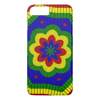 Primary Colors, Rolled Flower 1-iPhone 7 Plus Case