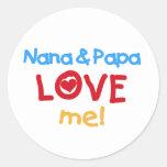 Primary Colours Nana and Papa Love Me