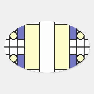 Primary Windows Oval Sticker