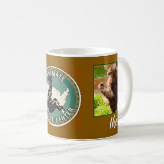 Primate Rescue Center in Kentucky logo with IKE Coffee Mug