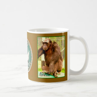 Primate Rescue Center in Kentucky logo with Noelle Coffee Mug