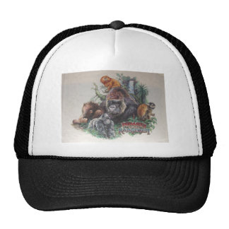 Primates of the Rainforest Trucker Hat