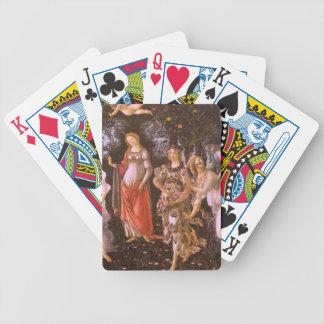 Primavera Bicycle Playing Cards