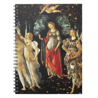 Primavera by Sandro Botticelli Notebook