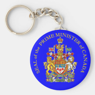 Prime Minister of Canada Keychain