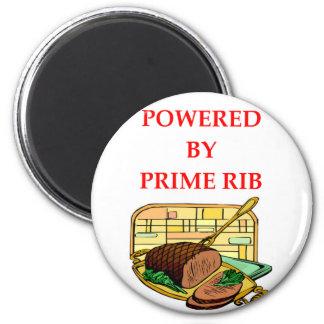 prime rib 2 inch round magnet