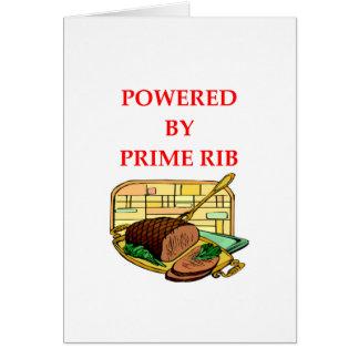 prime rib card