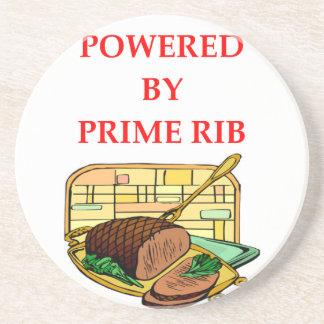 prime rib drink coasters