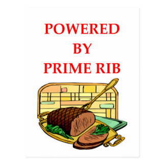 prime rib postcard