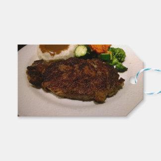 Prime Rib Steak Dinner Pack Of Gift Tags
