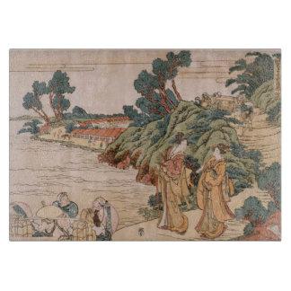 Primer Book of Treasury Hokusai Cutting Board