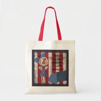 Primitive American Angel- Happy 4th of July