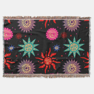 Primitive and Bold - SRF Throw Blanket