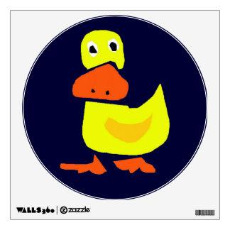Primitive Art Duck Wall Decal