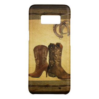 Primitive Barn Wood western country cowboy boots Case-Mate Samsung Galaxy S8 Case