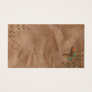 Primitive Butterfly Hang Tag