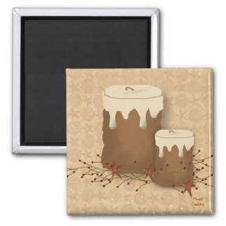 Primitive Candles Magnet