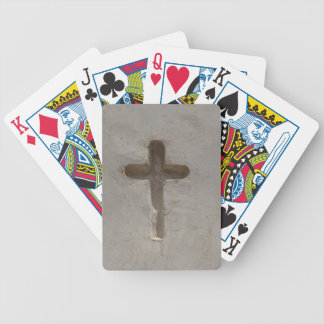 Primitive Christian Cross customize favorite Bible Bicycle Playing Cards