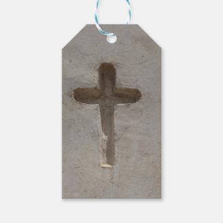 Primitive Christian Cross customize favorite Bible Pack Of Gift Tags
