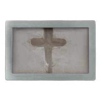 Primitive Christian Cross customize favorite Bible Rectangular Belt Buckles