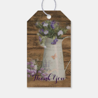 primitive country lavender rustic barn wood gift tags