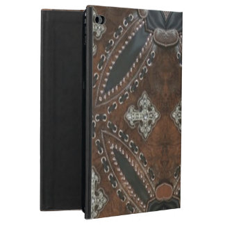 Primitive cowboy western country Tooled Leather Powis iPad Air 2 Case