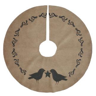 primitive Crows Circle Tree Skirt