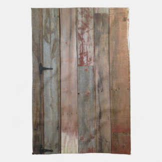 primitive farmhouse western country barn wood kitchen towel