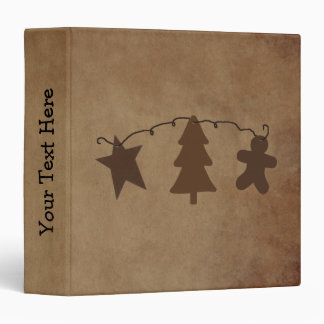 Primitive Holiday Ornaments Binder