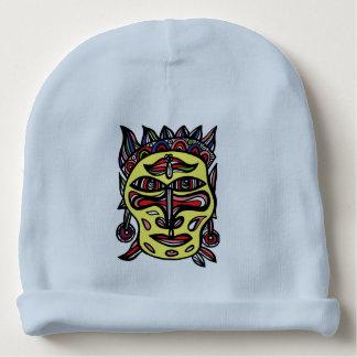 """Primitive Mask"" Baby Cotton Beanie Baby Beanie"