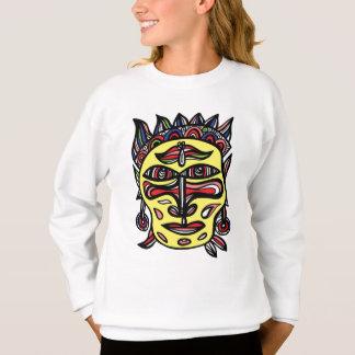 """""""Primitive Mask"""" Girls' Sweatshirt"""