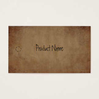 Primitive Paper Hang Tag