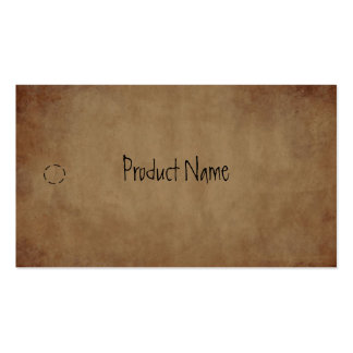 Primitive Paper Hang Tag Business Card