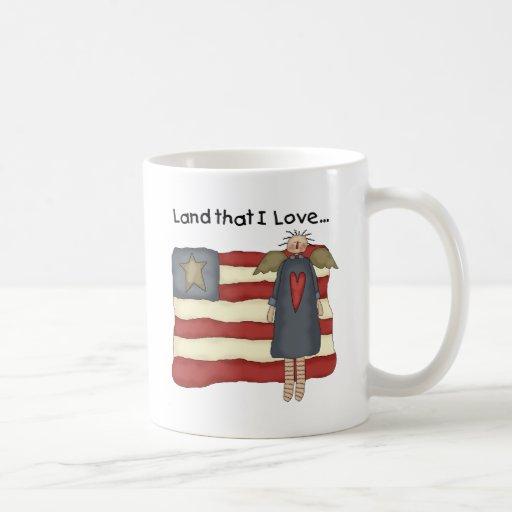Primitive Patriotic Mugs