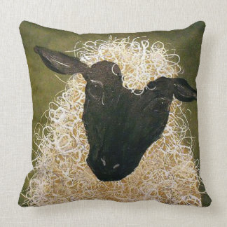 """Primitive Style/Sheep"" THROW PILLOW"