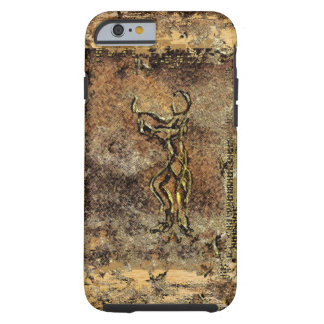 Primitive Tribal Cave Drawing Fine Art Chic Tough iPhone 6 Case