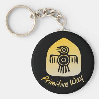 Primitive Way Keychain