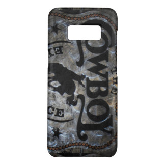 Primitive western country Horse cowboy rodeo Case-Mate Samsung Galaxy S8 Case