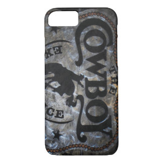 Primitive western country Horse cowboy rodeo iPhone 7 Case