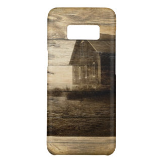 primitive western country old barn farmhouse cabin Case-Mate samsung galaxy s8 case