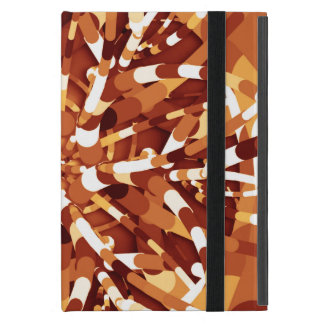 Primordial Egg - Multi color abstract burst Covers For iPad Mini