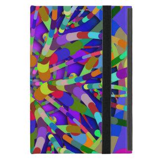 Primordial Egg - Multi color abstract burst iPad Mini Case