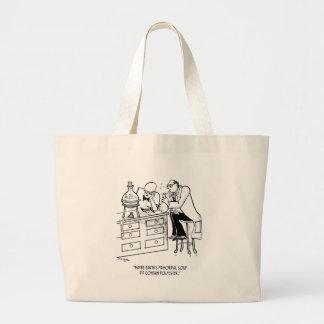Primordial Soup Cartoon 9477 Large Tote Bag